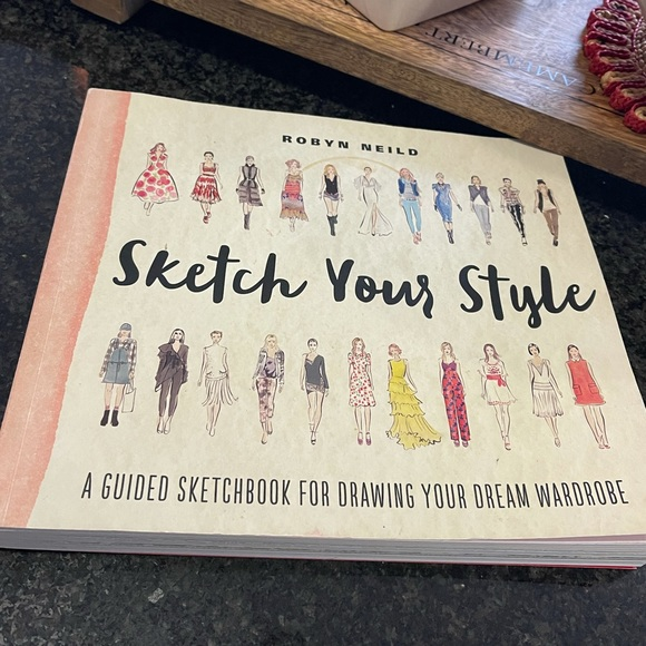 Sketch Your Style Unique Sketch Drawing Book